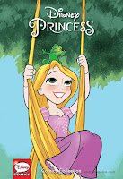 Disney Princess Comics Collection Target Exclusive Products Tangled Rapunzel 001