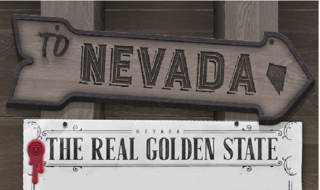 Nevada: The Golden State #Infographic