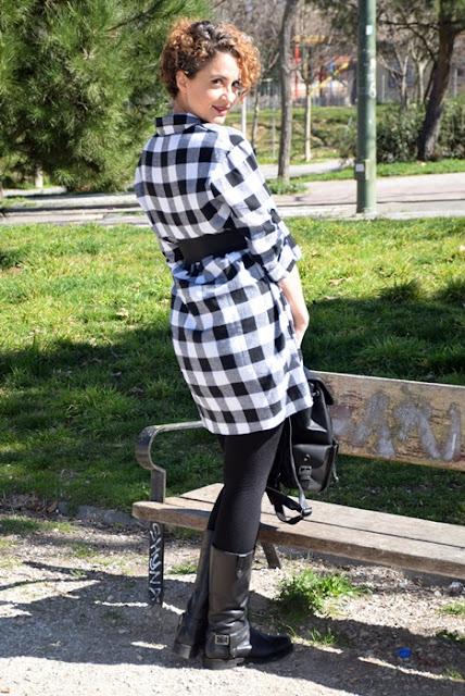 Outfit-Vestido-Camisero-cuadros-4