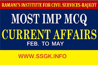 CURRENT AFFAIR FEB TO MAY RAMANI INSTITUTE