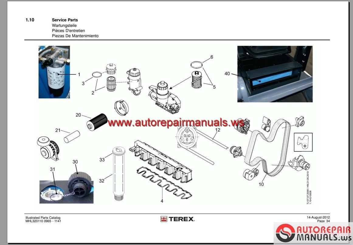 100+ Terex Parts Lookup – yasminroohi