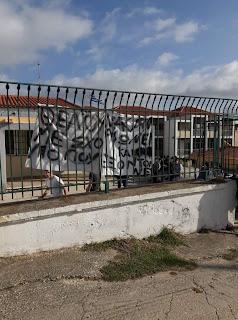 Κατάληψη του ΓΕΛ Μεθώνης ενάντια στο νέο νομοσχέδιο για την Παιδεία