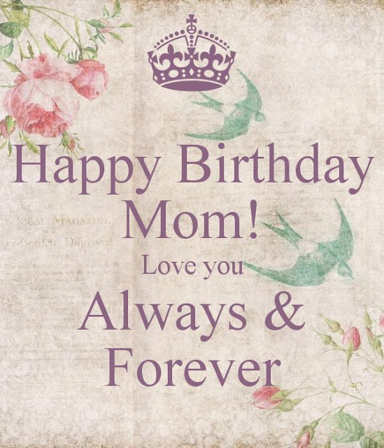 Delayed Mom's Birthday Wishes
