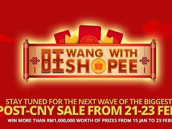 Perayaan Tahun Baharu Cina Memberi Impak Positif kepada Shopee