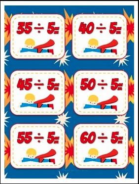 the best of teacher entrepreneurs ii free math lesson division flash cards superhero freebie. Black Bedroom Furniture Sets. Home Design Ideas
