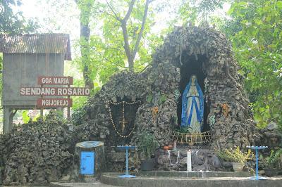 Perjalanan Rohani Gua Maria Sendang Rosario, Gunung Kidul