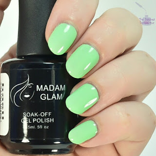 madam glam basil swatch
