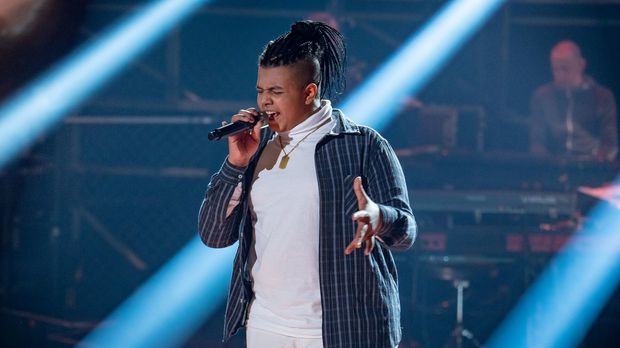 Ibrahim - Old Time Rock & Roll || The Voice Kids 2021