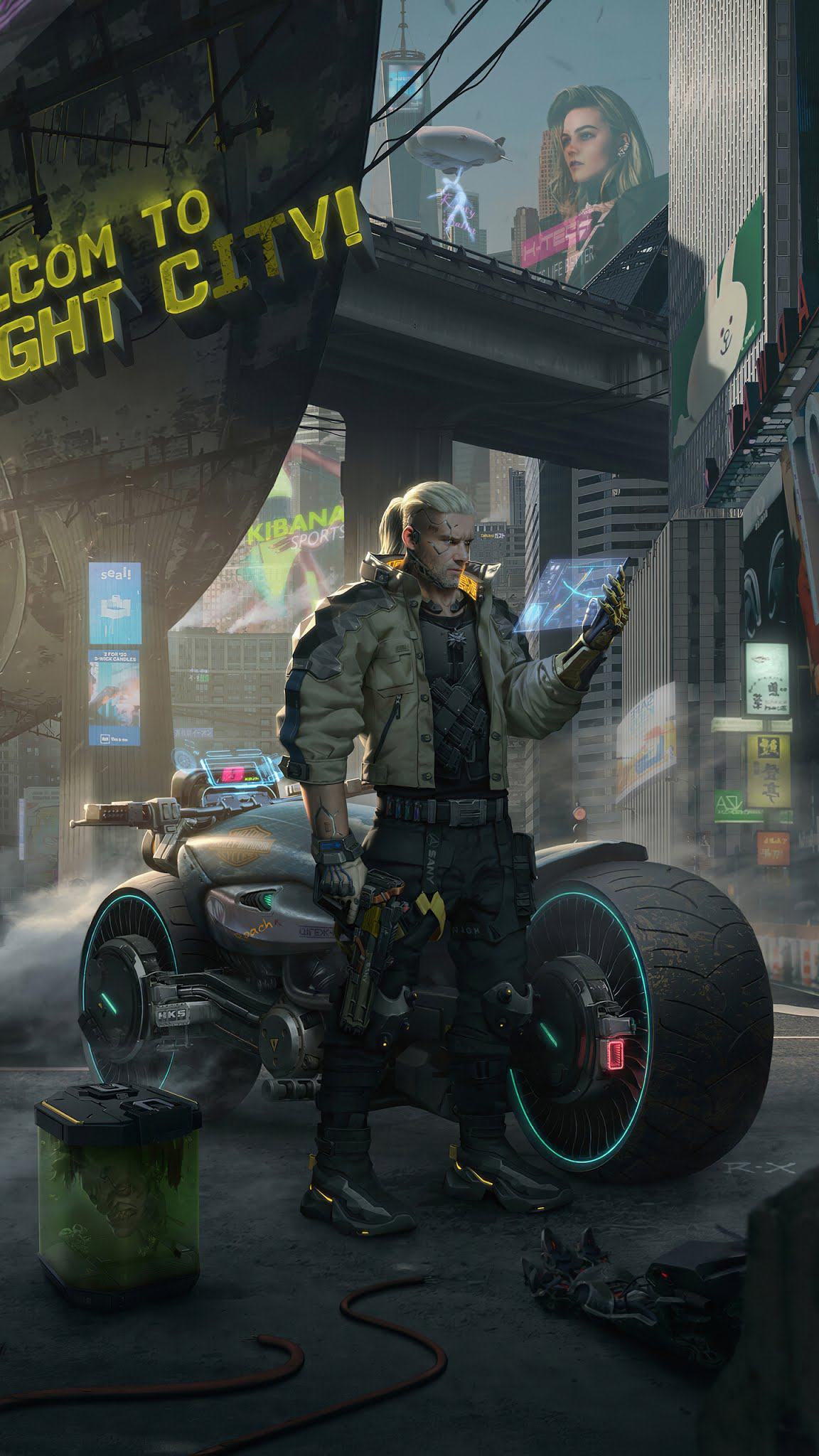 Witcher cyberpunk 2077