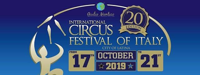 """Il Cirque D'Hiver Bouglione è  """"Gold Partner"""" della 20° edizione dell'International Circus Festival of Italy"""