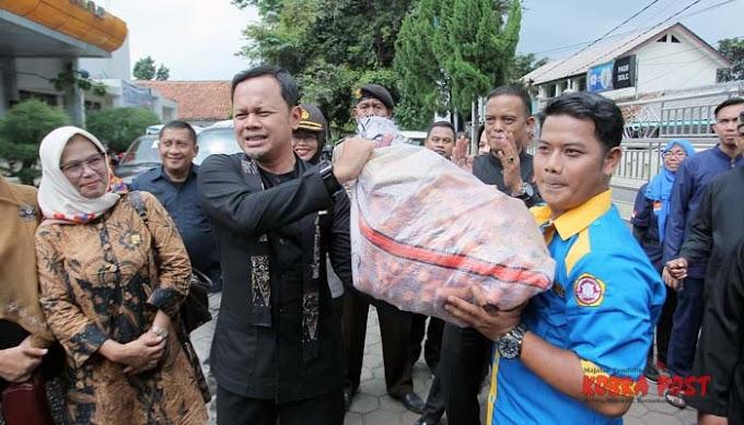 Empati Warga Bogor Selatan Bantu Korban Bencana Alam