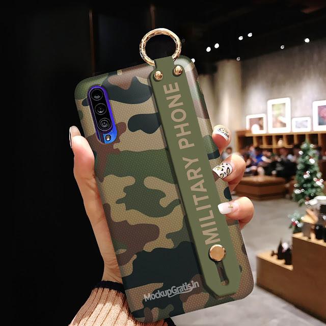 Contoh Mockup Handgrip Case SAMSUNG Galaxy A50s