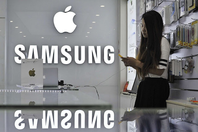 Samsung decided not to pay Apple 548$  million for up iPhone