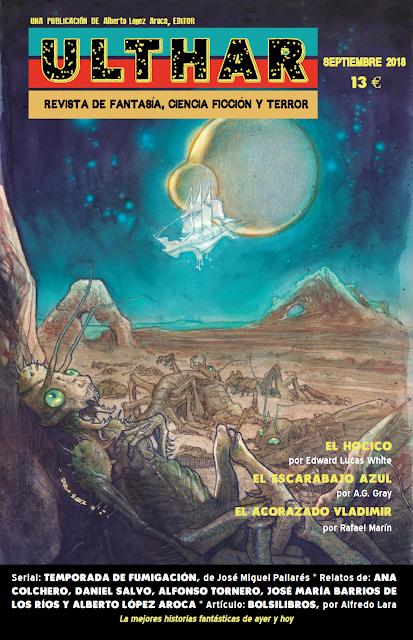 ¡NUEVO! Revista Ulthar nº06. 13 euros