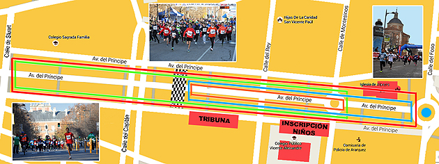 Carrera Popular Aranjuez 2019 Recorridos