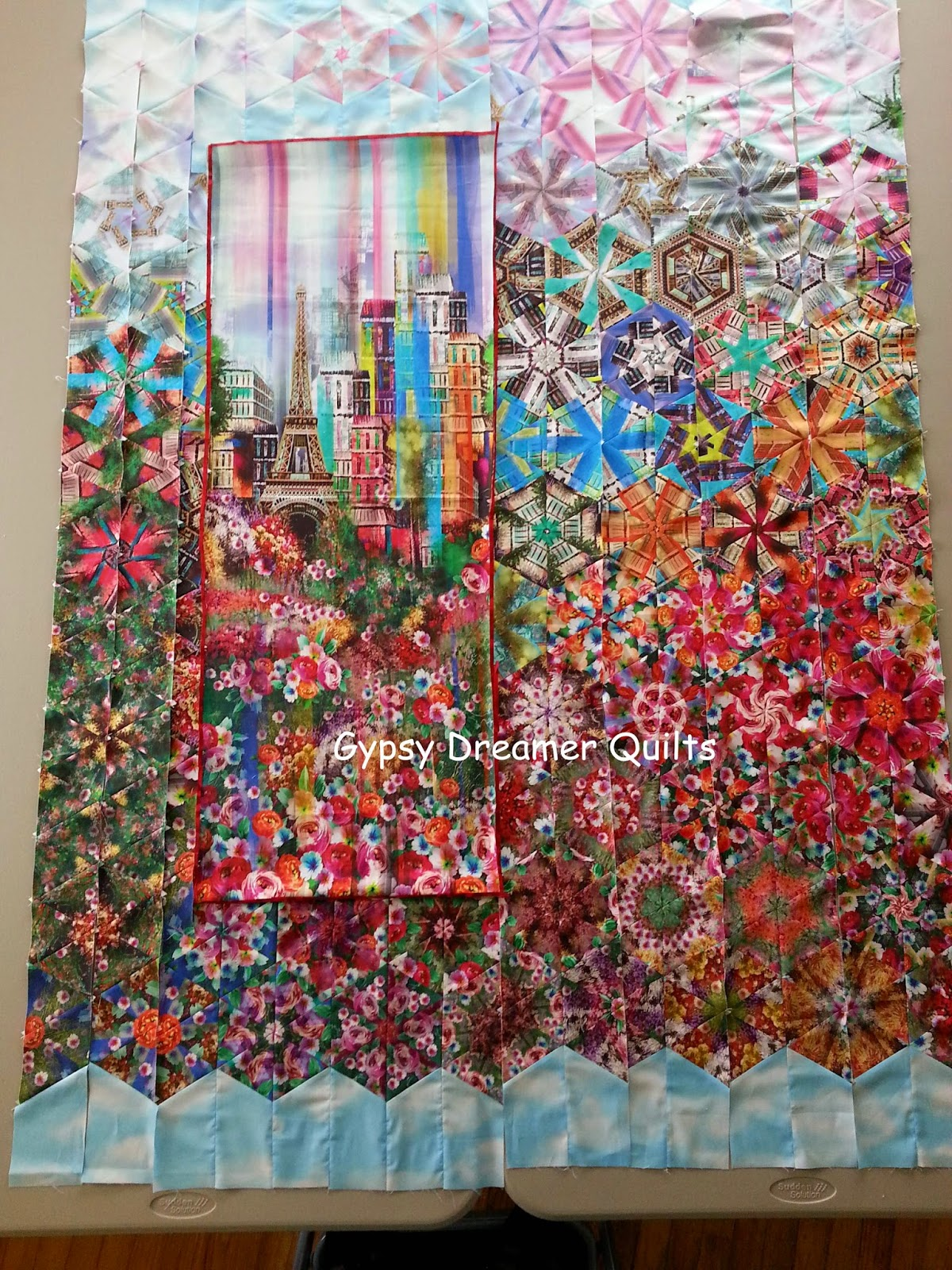 Gypsy Dreamer Quilts Wanderlust Experiment With A One