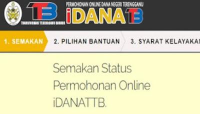 Semakan Status Dana Raya Terengganu 2019 Online