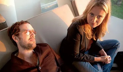 Theresa Duncan junto a su novio Jeremy Blake