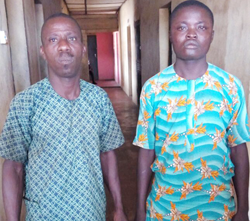 Money Ritual: Police Arrest Man, Friend With Sister's Bones - Pictured