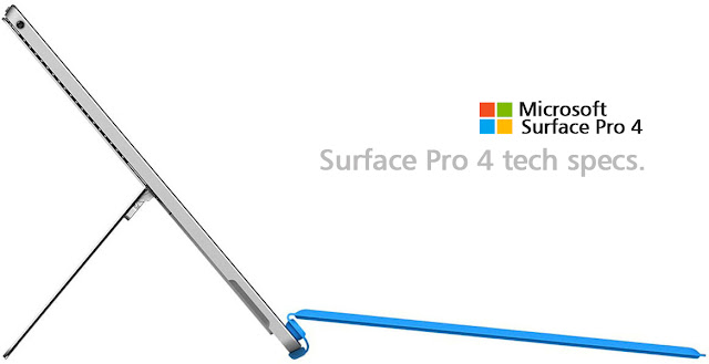 microsoft surface pro 4 flexible and slim dengan tiga konfigurasi