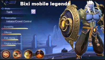 Bixi mobile legends, Hero Baru Tank yang Bisa Berubah Jadi Roda