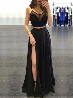 Vestido Preto Ousado