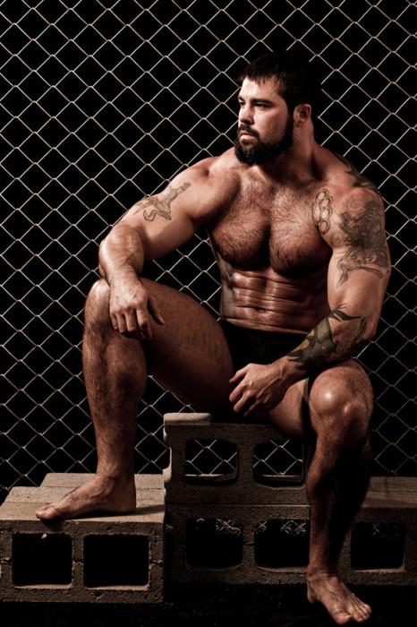 Muscle hairy dick tube
