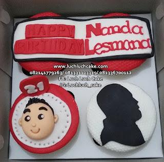 Cupcake Ulang Tahun Teman Cowok