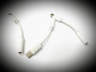 Sambungan Converter Jack Headset 3.5mm to Type C Jack USB Converter