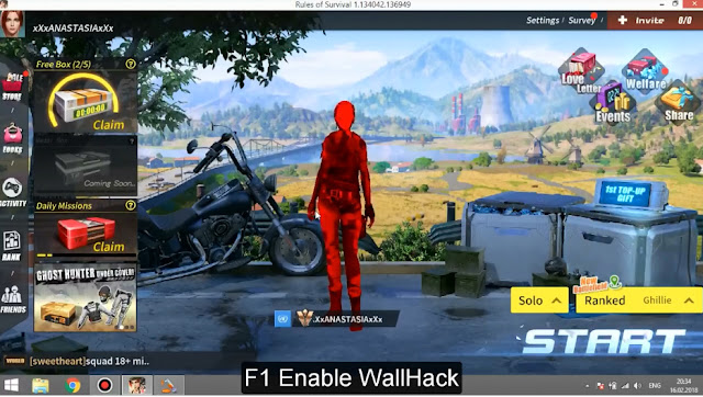 rules of survival ebr