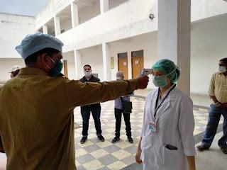 जिले में कोविड टीकाकरण का ड्राय रन किया गया