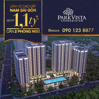 Sở hữu căn hộ Park Vista 2 phòng ngủ chỉ từ 1 tỷ 250 triệu