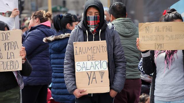 Nueva jornada de protestas en Argentina para pedir mayor asistencia social y mejores salarios