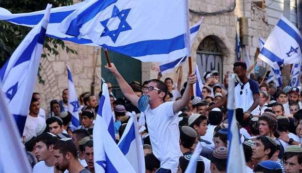 Gelar Pawai di Yerusalem, Massa Nasionalis Israel Teriakkan 'Matilah Orang Arab!'