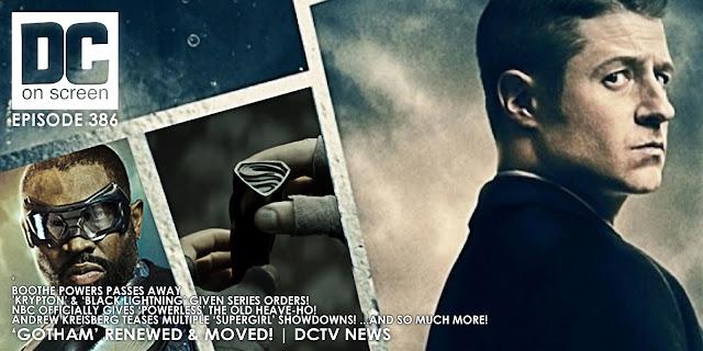Jim Gordon, Black Lightning, and Krypton