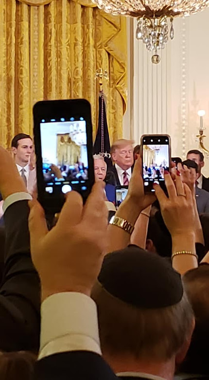 White House Meeting with California contingent