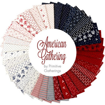 American Gathering Fat Quarters by Primitive Gathering