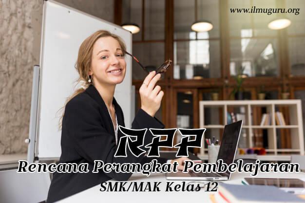 RPP 1 Lembar PAI SMK Kelas 12