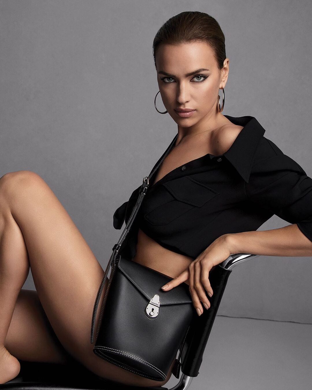 Calvin Klein's Fall Winter 2019.20 Handbags campaign starring supermodel Irina Shayk