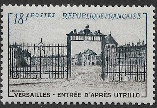 France Palace of Versailles 1952