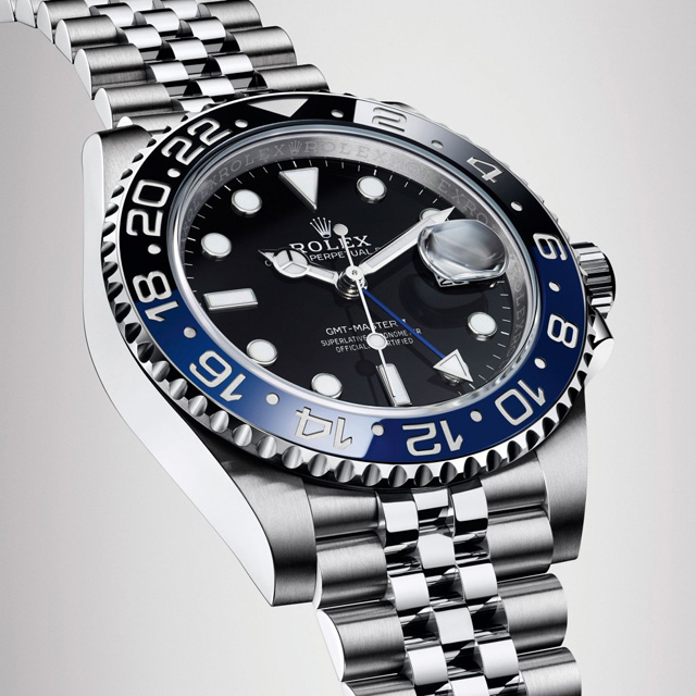 Ii 126710blnr CollectionRolex Luxe Montre Master Batman Gmt m0Py8nwNOv