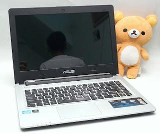 Laptop Gaming Asus A46CM Core i3 VGA Nvidia GT635m Bekas