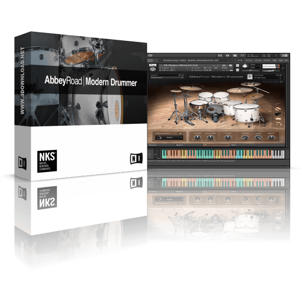 Native Instruments Abbey Road Modern Drummer KONTAKT Library
