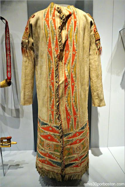 Cree Coat en el Museo Nacional de los Indios Americanos en Nueva York