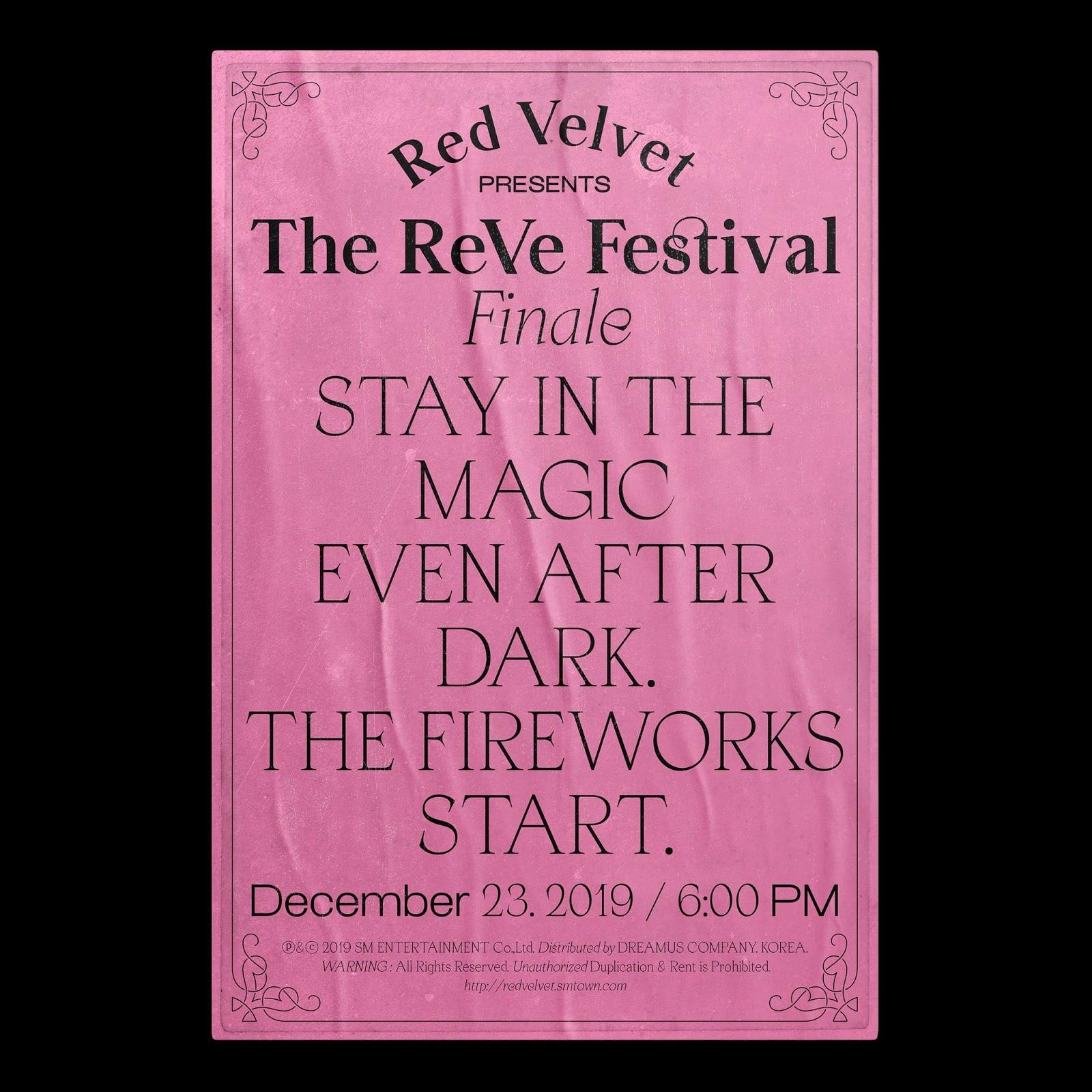 Red Velvet Release Creepy Teaser For New Album 'The ReVe Festival: Finale'