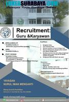 Karir Surabaya di Yayasan Nurul Iman Menganti Juli 2020