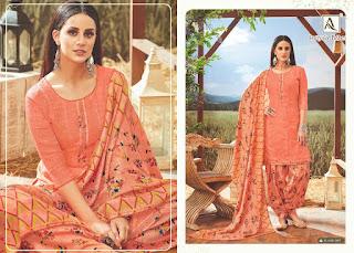 Alok Suits Patiyala Babes Pashmina Collection New Design