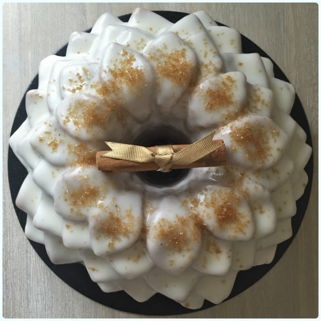 Apple and Fireball Liquor Bundt Cake