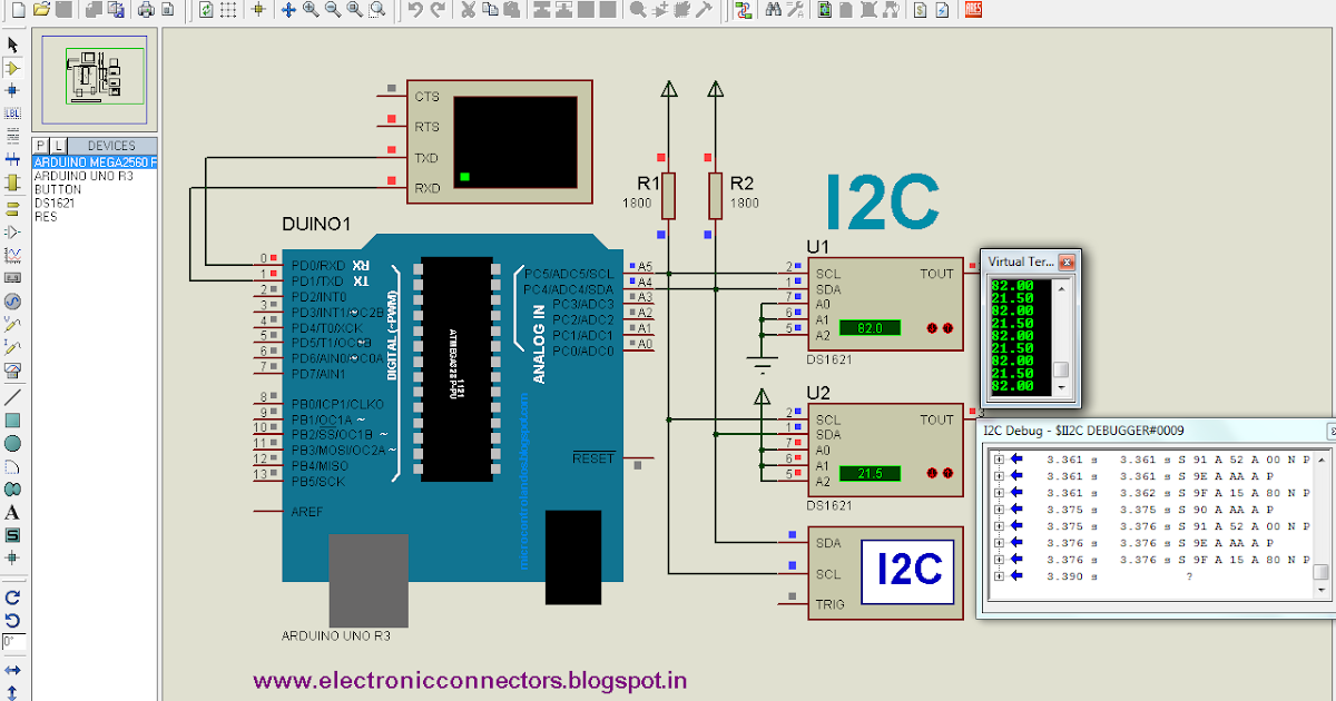 Electronic Connectors I2c In Arduino Uno Amp Pic