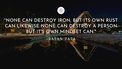 Best Inspirational Quotes by Indian Businessmen - Ratan Tata